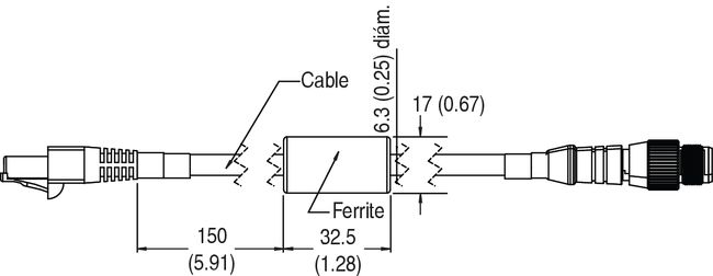 Click to enlarge - Micro 400 patchcord
