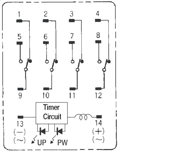 1066889 wiring diagram 4 pole relay wiring diagrams instruction relay wiring diagram 4 pole at bayanpartner.co