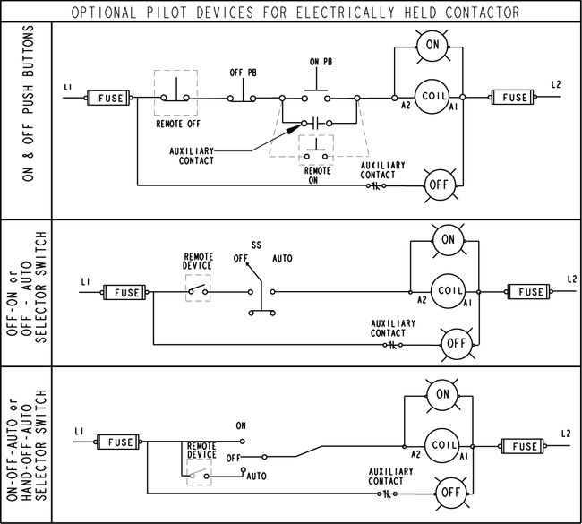 24702 hand off auto motor starter wiring diagram circuit and electrically held contactor wiring diagram at reclaimingppi.co