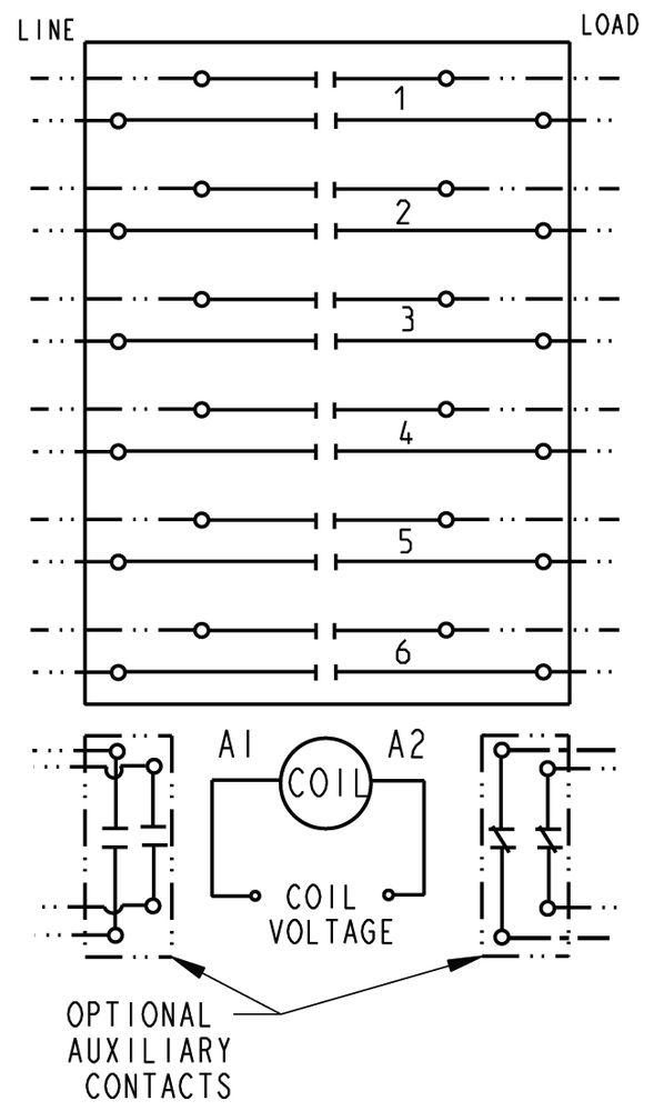 24703 2017 3 pole lighting contactor wiring diagram at fashall.co